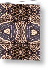 Cheetah Print Greeting Card