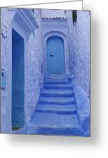 Chefchaouen Morocco Greeting Card