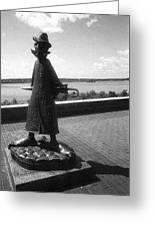 Chekhov Monument Greeting Card