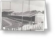 Chelsea - Stamford Bridge - East Stand 2 - August 1969 Greeting Card