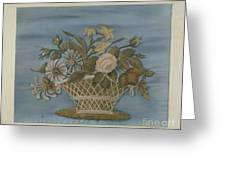 Chenille Embroidery Greeting Card