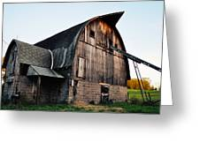 Chequamegon National Forest Barn Greeting Card