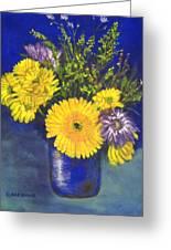 Cheris Flowers Greeting Card