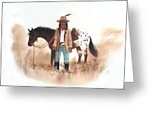 Cherokee Lighthorse Greeting Card