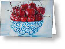 Cherrismatic Bowl Greeting Card