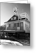 Cherry Beach Boat House Greeting Card