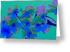 Cherry Blossom Series 2 Greeting Card by Jen White