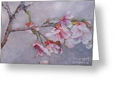 Japanese Cherry Blossom Tree Greeting Card