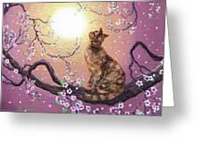 Cherry Blossom Waltz  Greeting Card