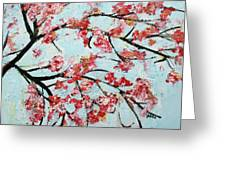 Cherry Blossoms V 201631 Greeting Card