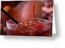 Cherry Coke Greeting Card