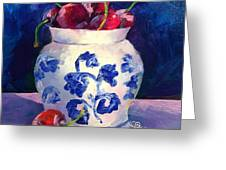 Cherry Delights Greeting Card