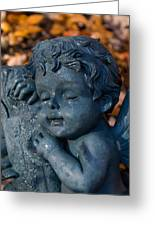 Cherub Sleeping Greeting Card