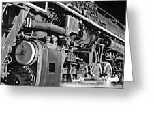 Chesapeake And Ohio Steam Engine Greeting Card