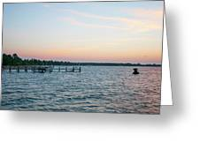 Chesapeake Bay - Piney Point Maryland Greeting Card