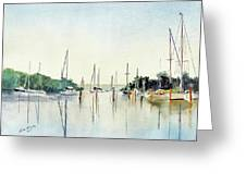 Chesapeake Morning Greeting Card