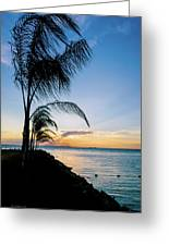 Chesapeake Sunset - Full Color Greeting Card