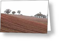 Cheshire Landscape Greeting Card