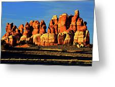 Chesler Park Sandstone Towers Greeting Card