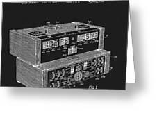 Chess Clock Patent Greeting Card