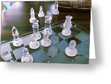 Chess Is Not For Sissies Greeting Card by Anne-Elizabeth Whiteway