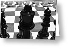 Chess Pano Greeting Card