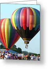 Chester County Balloon Fest 8765 Greeting Card
