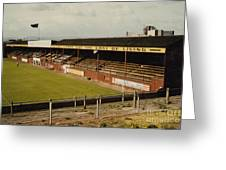 Chester - Sealand Road - Main Stand 1 - 1969 Greeting Card