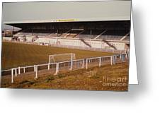 Chester - Sealand Road - Main Stand 2 - 1979 Greeting Card