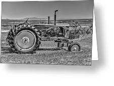 Chesterfield Tractor Greeting Card
