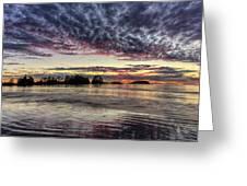 Chesterman Beach Sunset Greeting Card