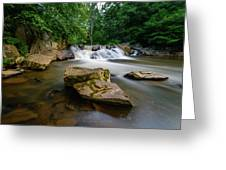 Chestnut Creek Falls  Greeting Card