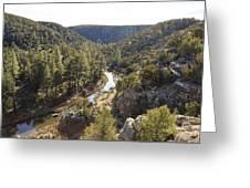 Chevelon Canyon Greeting Card