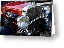 Chevrolet 1932 Deluxe Coupe Greeting Card