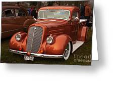 Chevrolet 1936 Greeting Card