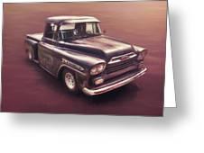 Chevrolet Apache Pickup Greeting Card