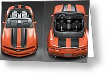 Chevrolet Camaro Convertible Concept 5  Greeting Card