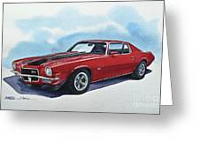 Chevrolet Camaro Z28 Greeting Card