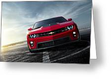 Chevrolet Camaro Zl1 2012 Greeting Card