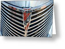 Chevrolet Chrome Greeting Card