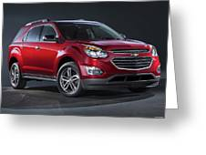 Chevrolet Equinox Ltz 2016 1920x1200 001 Greeting Card