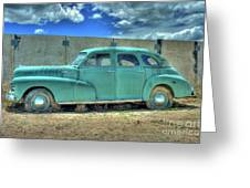 Chevrolet Fleetmaster Greeting Card