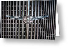 Chevrolet Grill Greeting Card