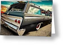 Chevrolet Impala Greeting Card