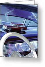 Chevrolet Nomad Toy Car Greeting Card
