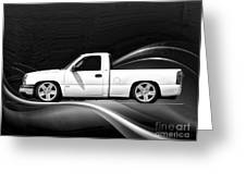 Chevrolet Super Sport Pickup Greeting Card