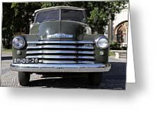 Chevrolet Thriftmaster Greeting Card