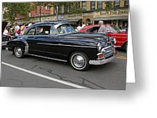 Chevy 1950 Greeting Card
