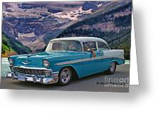 Chevy At Lake Louise Greeting Card