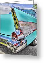 Chevy Bel Air Greeting Card